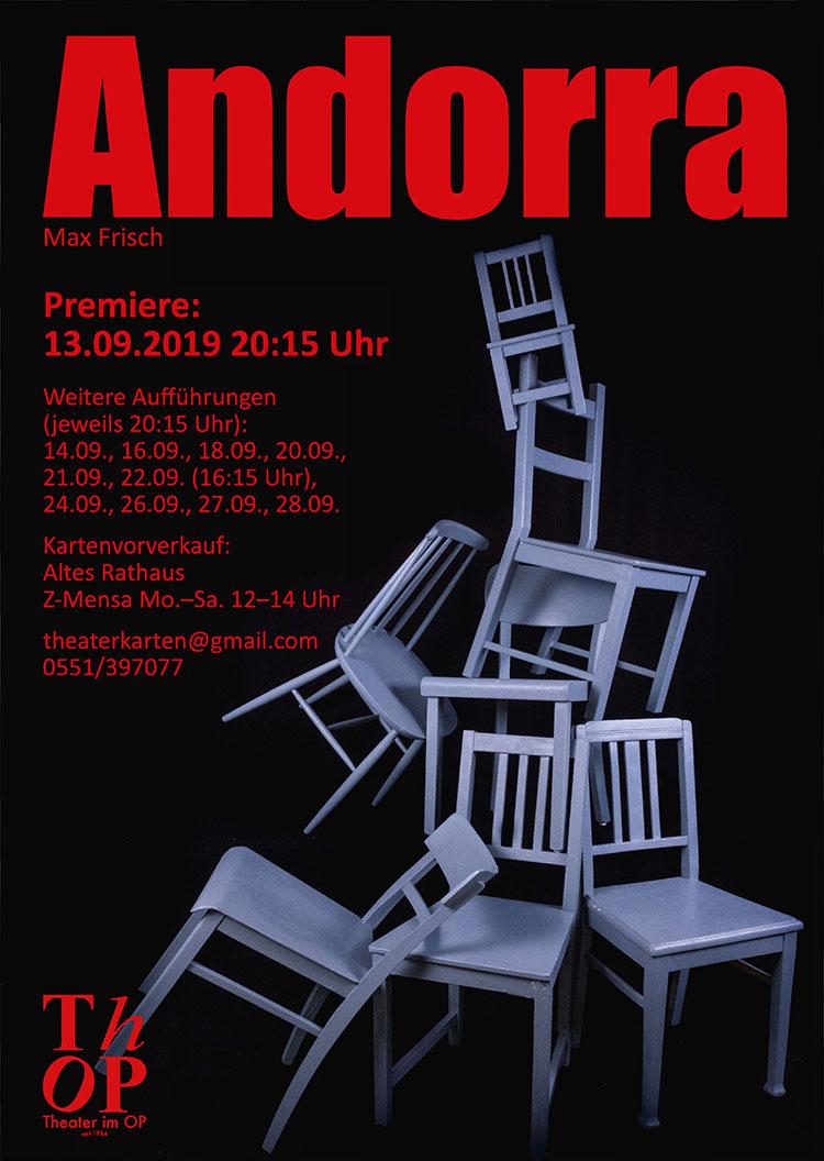Andorra von Max Frisch @ Theater im OP, Göttingen